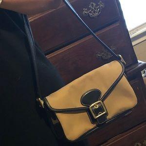 Authentic Khaki color Coach Purse
